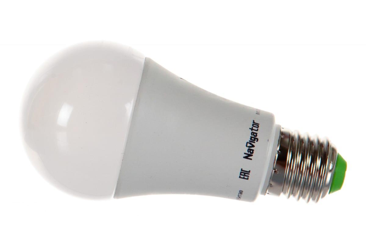 Светодиодная лампа Navigator 61 200 NLL-A70/А60-15-230-2.7K-E27 20107 459603