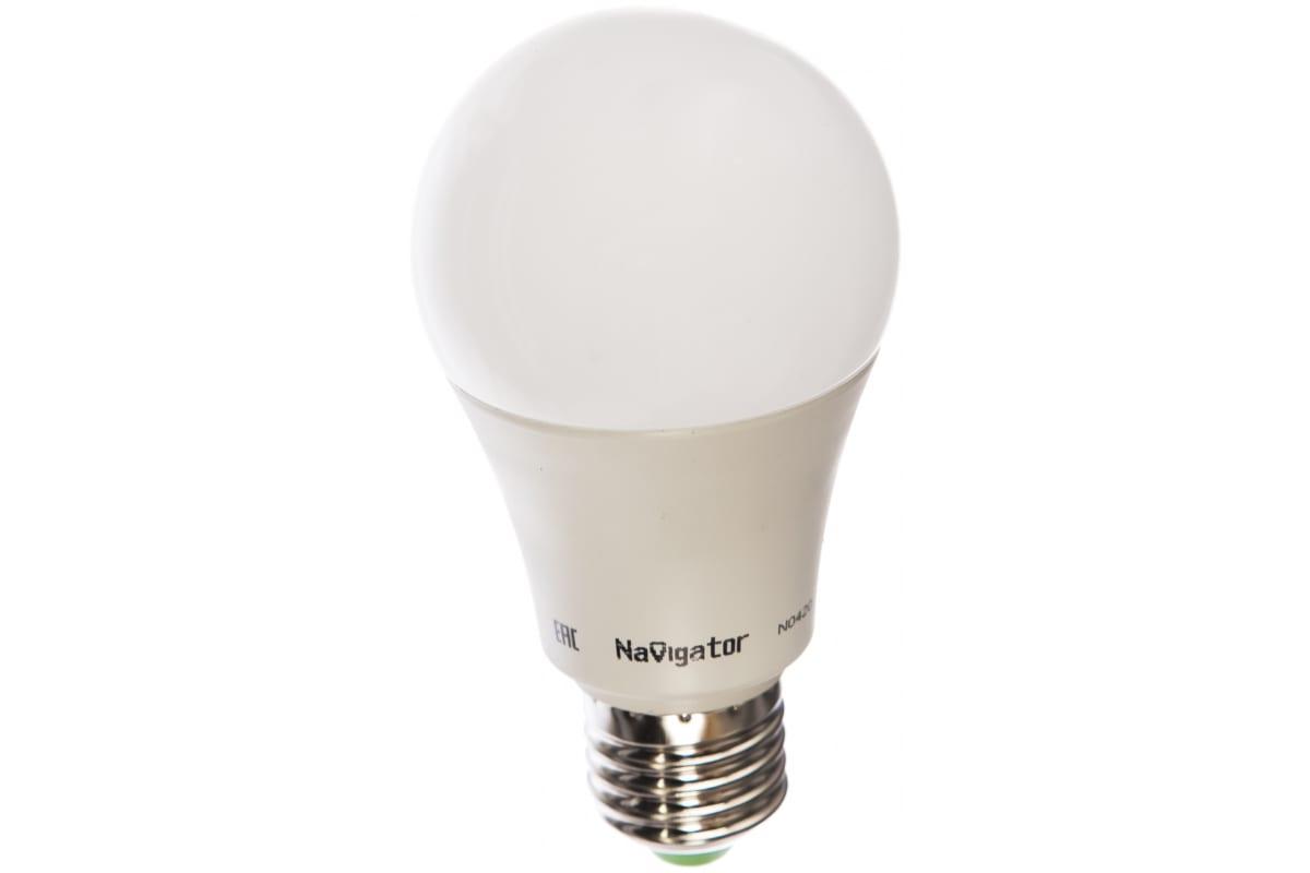 Светодиодная лампа Navigator 61 477 NLL-A60-12-12/24-4K-E27 20643 481057