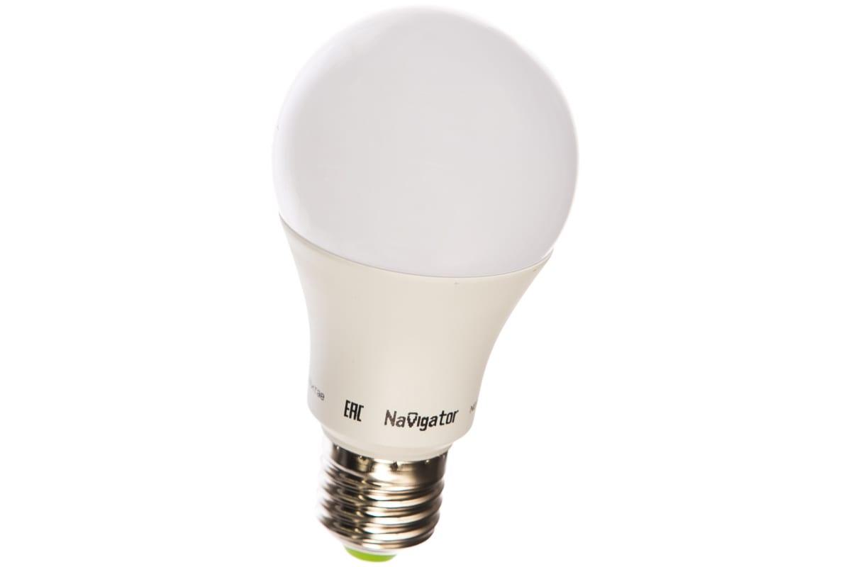 Светодиодная лампа Navigator 71 297 NLL-A60-12-230-4K-E27 12Вт E27 1000лм 176-264В 19 331147