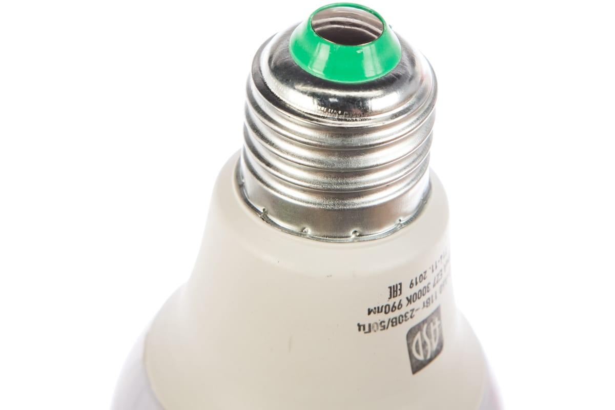 Светодиодная лампа ASD LED-A60-standard 11Вт 230В Е27 3000К 990Лм 4690612001739
