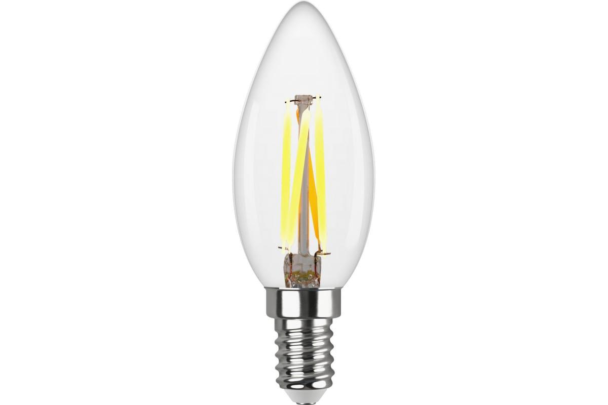 Светодиодная лампа REV FILAMENT свеча С37 E14 5W 2700K DECO Premium 32359 4