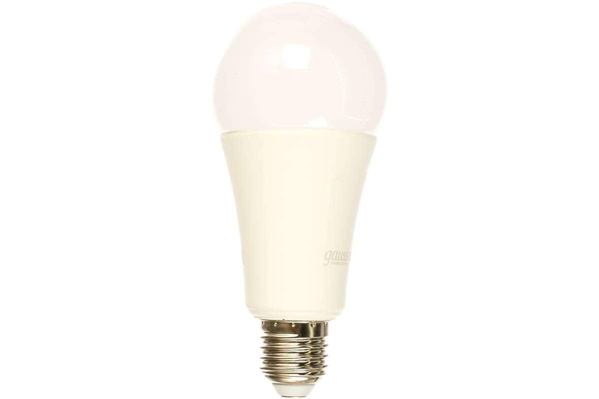 Лампа Gauss LED Elementary A67 25W E27 2000lm 3000K 73215