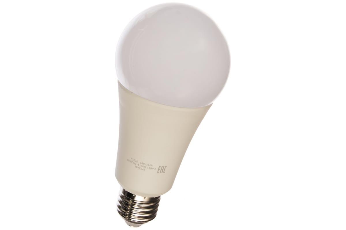 Лампа Gauss LED Elementary A67 25W E27 2100lm 4100K 73225