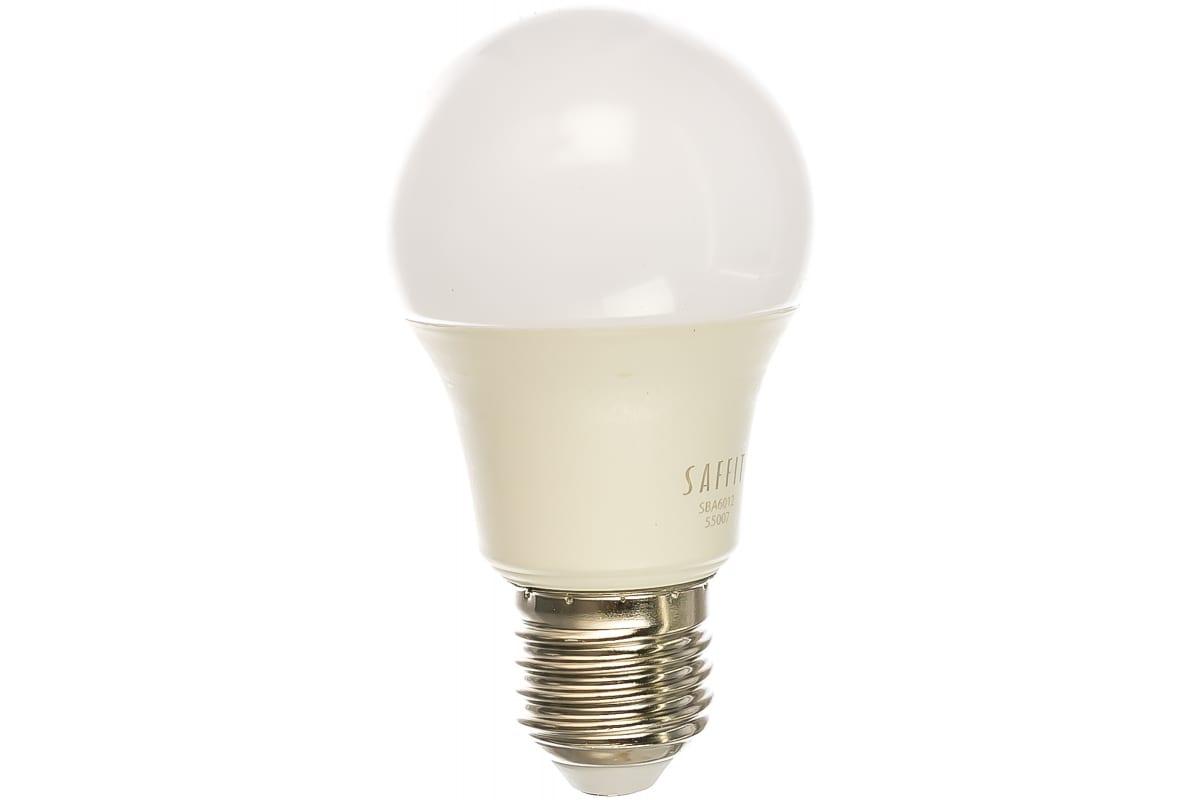 Светодиодная лампа SAFFIT 12W 230V E27 2700K SBA6012 55007