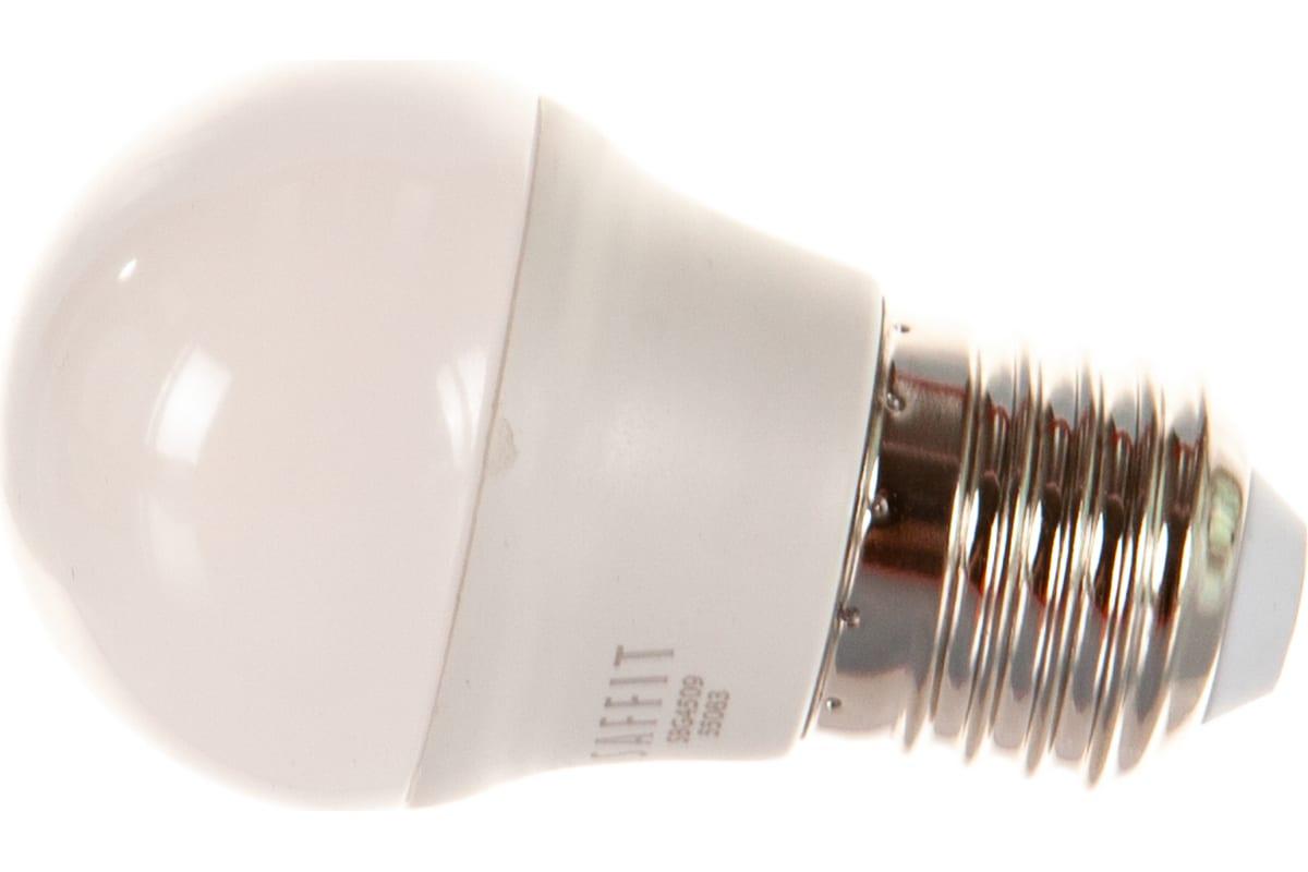 Светодиодная лампа SAFFIT 9W 230V E27 4000K SBG4509 55083