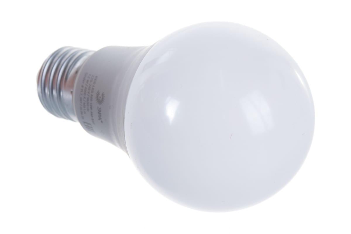 Светодиодная лампа ЭРА ECO LED A60-12W-840-E27 груша нейтральный Б0030027