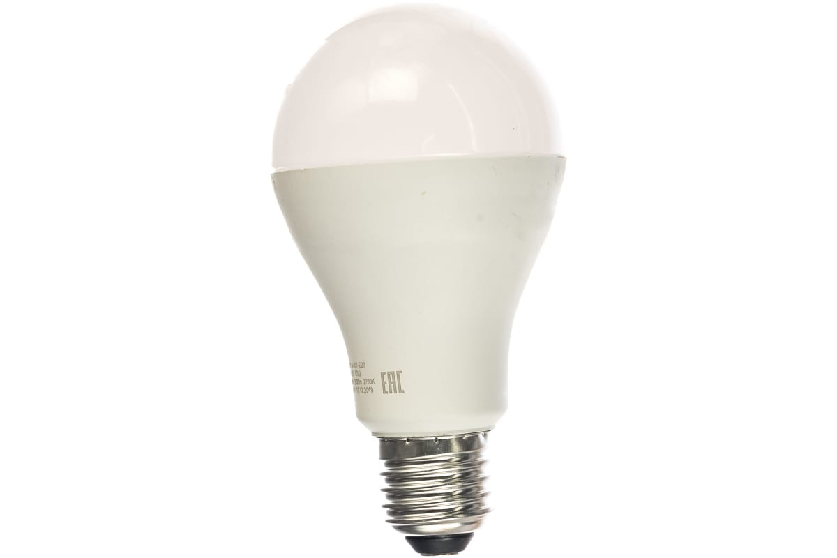 Светодиодная лампа ЭРА LED A65-25W-827-E27 груша теплый Б0035334