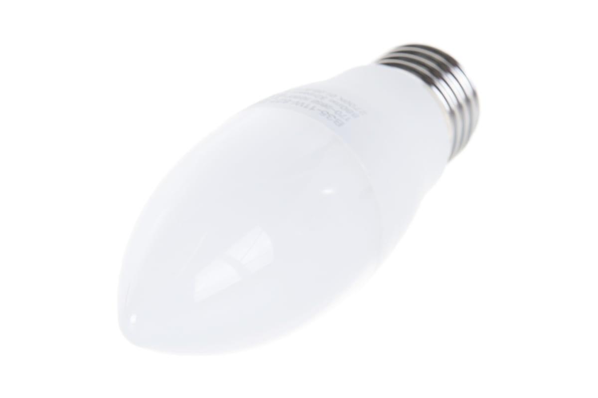 Светодиодная лампа ЭРА LED B35-11W-827-E27 свеча теплый Б0032981