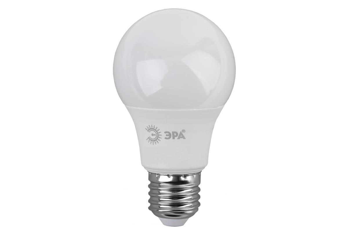 Светодиодная лампа ЭРА LED A60-9W-840-E27 груша нейтральный Б0032247