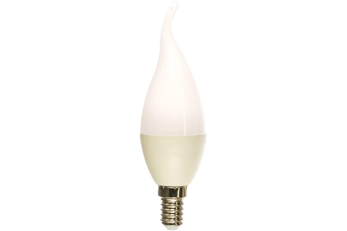 Светодиодная лампа ЭРА LED BXS-5W-827-E14 свеча на ветру теплый Б0027967