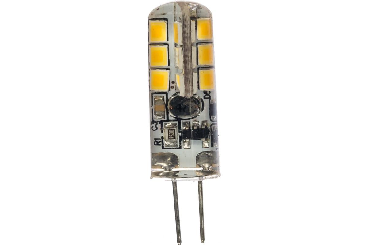 Светодиодная лампа ЭРА LED JC-15W-12V-827-G4 капсула теплый Б0033188
