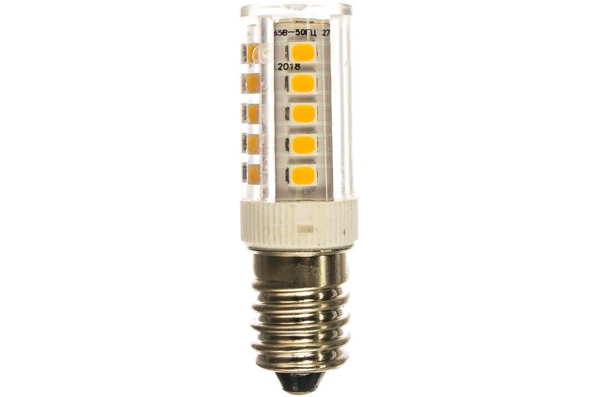 Светодиодная лампа ЭРА LED T25-35W-CORN-827-E14 капсула теплый Б0028744
