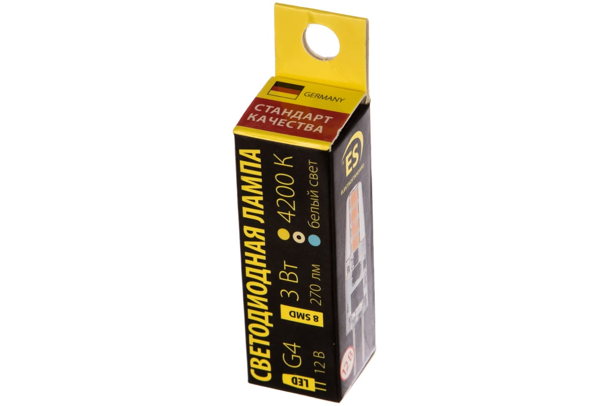 Светодиодная лампа Elektrostandard G4 LED BL126 3W 12V 360 4200K a040407