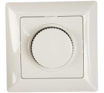 Поворотный светорегулятор Intro 440101 600Вт 230В, СУ, Solo, белый Б0043396