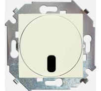 Светорегулятор с управлением Simon от ИК пульта, проходной, 500Вт, 230В слоновая кость 1591713-031
