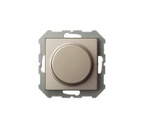 Диммер-выключатель LIREGUS 40-400W Эпсилон ISR-002-01 E/Ch шампань без рамки 28-307