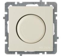 Выключатель светорегулятор Nilson СУ 1000 Вт, TOURAN-ALEGRA-THOR, кремовый 24120453