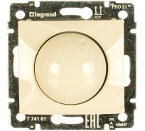 Поворотный светорегулятор, крем 40-400W Legrand Valena 774161