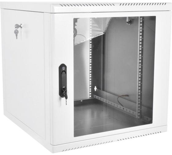 Телекоммуникационный настенный шкаф ЦМО, 19, 9U, дверь стекло, разборный, серый ШРН-М-9.650 - цена, отзывы, характеристики, фото - купить в Москве и РФ