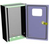 Учётно-распределительный щит ЭРА встраиваемый IP31 ЩУ-МП 360x225x140 IP55 с окном и кронштейном Б0032663