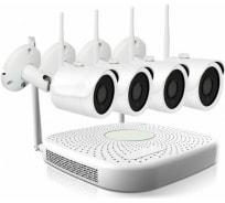 Беспроводной набор видеонаблюдения IVUE IVUE-W5004-1080-B4