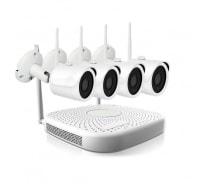 Беспроводной набор видеонаблюдения IVUE IVUE-W5004-720-B4
