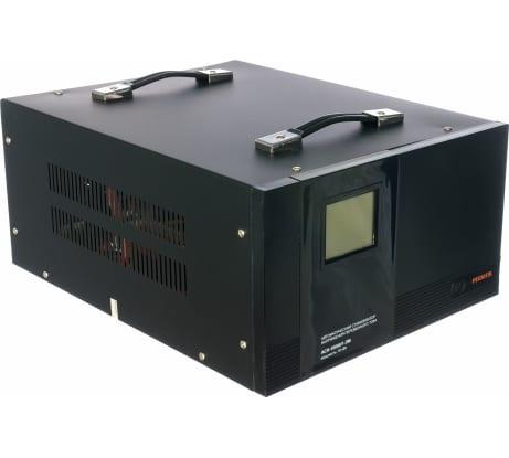 Фото однофазного стабилизатора напряжения Ресанта АСН 10000/1-ЭМ