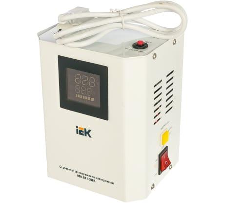 Фото стабилизатора напряжения IEK Boiler 0.5кВА IVS24-1-00500 284084