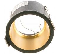 Встраиваемый потолочный светильник FERON MR16 G5.3 алюминий, черный, золото DL6003 29731
