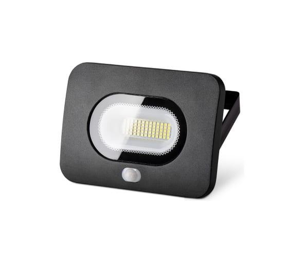 WOLTA Светодиодный прожектор с датчиком движения 30Вт, 2400 Лм, IP65, 5700K WFL-30W/05s - цена, отзывы, характеристики, фото - купить в Москве и РФ