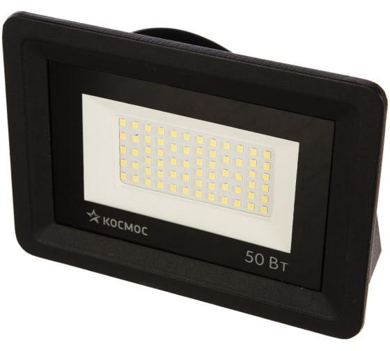Светодиодный прожектор КОСМОС 50Вт, 4000Лм, IP65, 6500K, Sup 300141 в Екатеринбурге - купить, цены, отзывы, характеристики, фото, инструкция