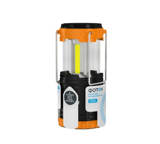 Кемпинговый светодиодный фонарь ФОТОН С-450 3хLR03 в комплекте 23064 - цена, отзывы, характеристики, фото - купить в Москве и РФ