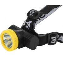 Налобный фонарь ЭРА Практик GA-802, 3Вт, литий, USB Б0033765