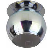 Светильник ЭРА DK88-2 декор 3D квадрат G9,220V, 35W, серебро/мультиколор Б0032366