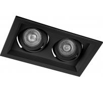 Встраиваемый потолочный светильник FERON MR16 G5.3 черный, DLT202 32442