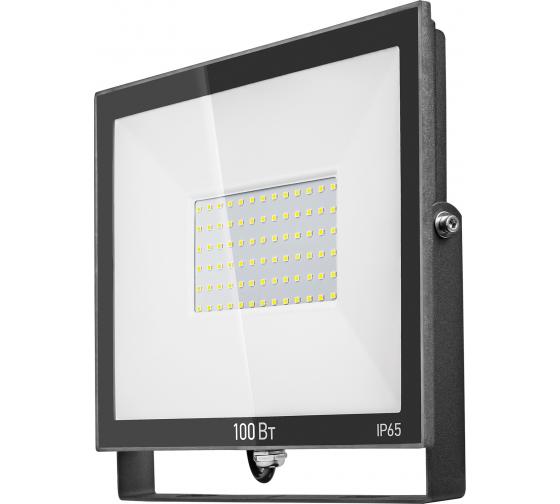 Светильник ОНЛАЙТ OFL-100-6K-BL-IP65-LED 61948 - цена, отзывы, характеристики, фото - купить в Москве и РФ