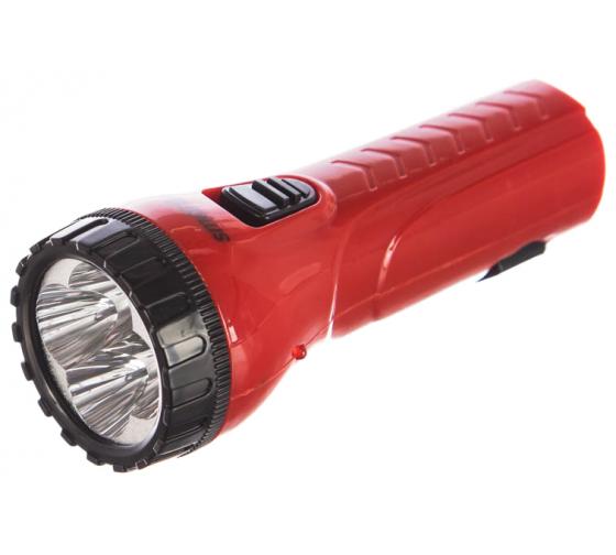 Аккумуляторный светодиодный фонарь Smartbuy 4 LED с прямой зарядкой, красный SBF-93-R в Екатеринбурге - купить, цены, отзывы, характеристики, фото, инструкция