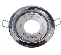 Светильник Фарлайт GX53 220 В 50 Гц хром с термокольцом FAR002035