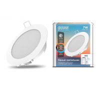 Светодиодный светильник Gauss Smart Home DIM+CCT 7Вт 1/30 2030122