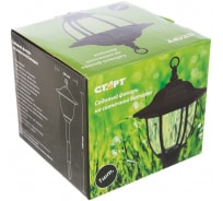 Садовый фонарь со светодиодами на солнечных батареях Фонарь СТАРТ САД 1LED