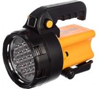 Фонарь-прожектор ЭРА PA-602 Альфа 19xLED, литий 3Ач, ЗУ 220V+12V, карт Б0031033