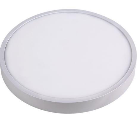 Светодиодная панель Apeyron накладная круглая, 220В, 15Вт, алюминиевый корпус, изолированный драйвер,ТБ 06-37 - цена, отзывы, характеристики, фото - купить в Москве и РФ