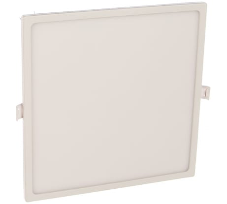 Светодиодная панель Apeyron встраиваемая квадратная 220В, 24Вт, алюминиевый корпус, изолированный драйвер ДН 06-34 в Пскове купить по низкой цене: отзывы, характеристики, фото, инструкция