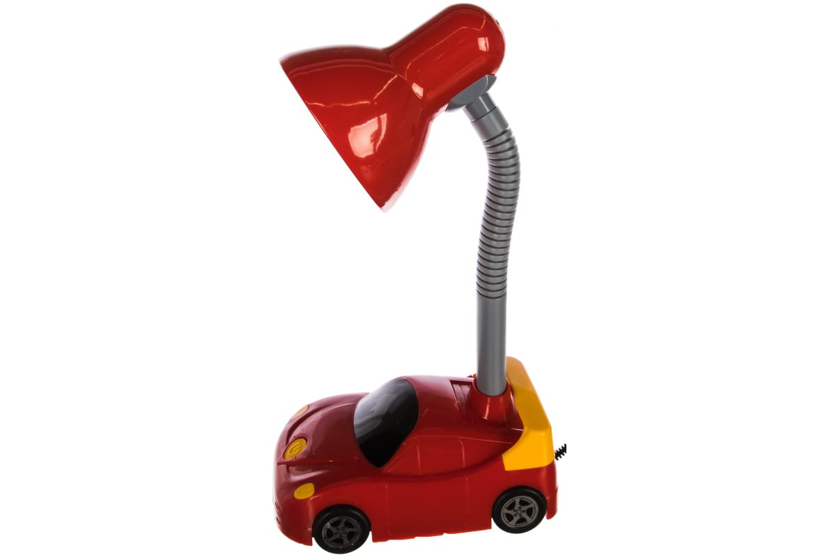 Настольный светильник Camelion KD-383 C04 красный 230В E27 12610