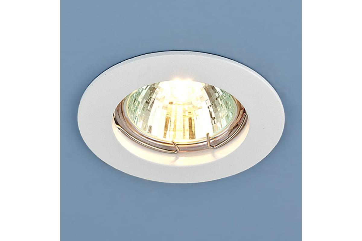 Встраиваемый светильник Elektrostandard 863 MR16 WH / белый a030070