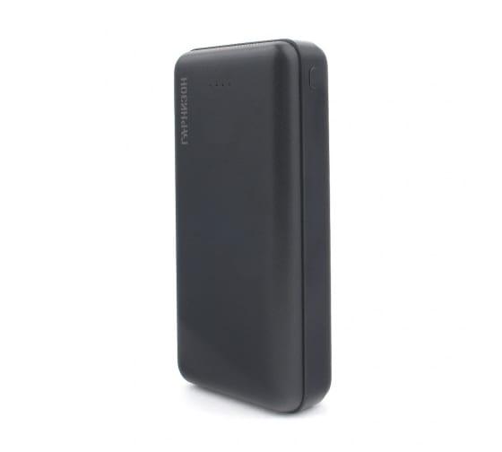 Портативный аккумулятор Гарнизон GPB-205, 20000мА/ч, 2 USB type-c, 2.4A черный 3