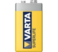 Батарейка Varta SUPERLIFE 9V пленка 1 02022101301