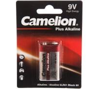 Батарейка Крона Plus Alkaline 9В, 6LF22, 6LR61 Camelion 1655