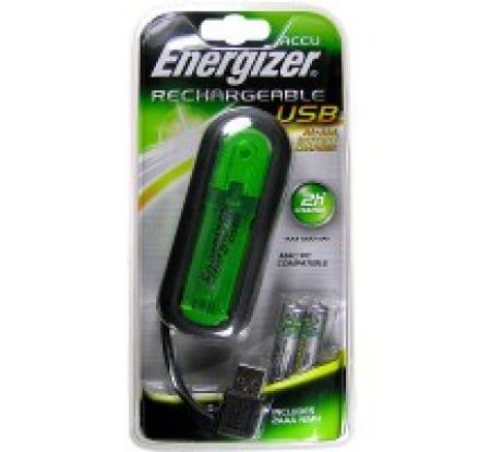 Зарядное устройство Energizer 2хHR03 900 через USB, 10411 в Санкт-Петербурге купить по низкой цене: отзывы, характеристики, фото, инструкция
