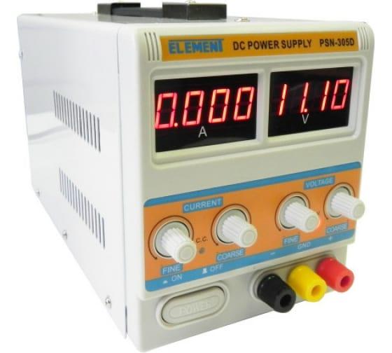 Лабораторный блок питания ELEMENT 305D 15305 (30V, 5A) 2